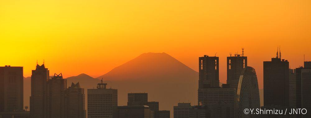 Fuji von Tokyo aus