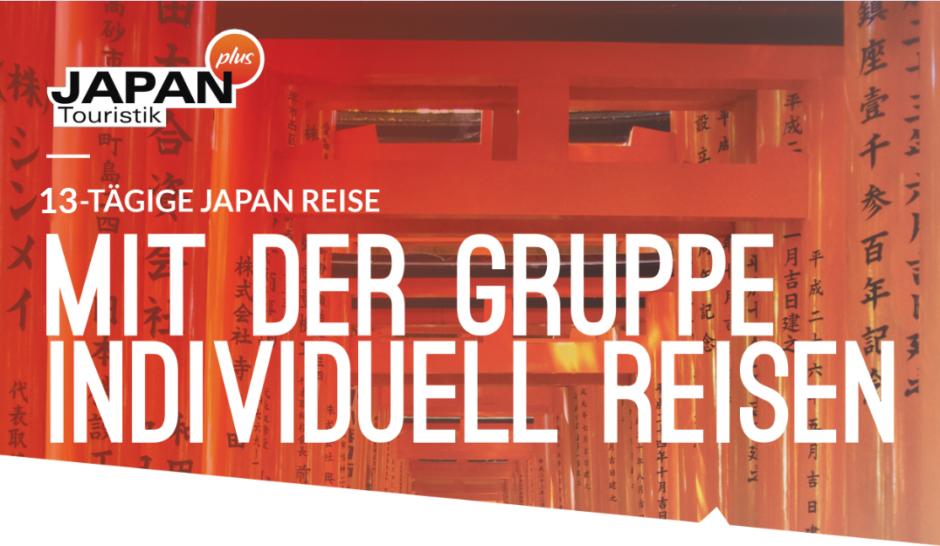 JAPAN – Die Gruppenreise für Individual-Reisende (Herbstlaub-Edition)